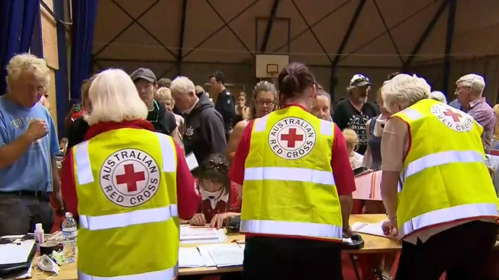 Red Cross charity accused of delaying donations meant for fire victims