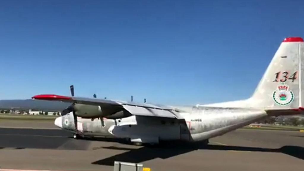Air tanker crash kills three people