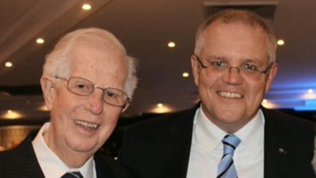 Scott Morrison's father dies