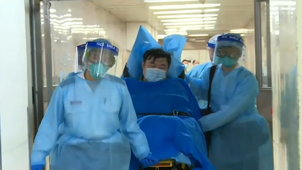 Chinese killer virus on lockdown