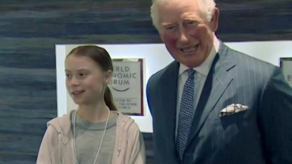 Prince Charles meets Greta Thunberg