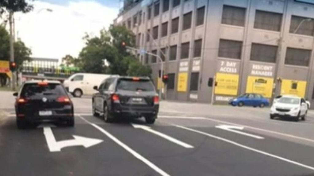 South Melbourne road blunder