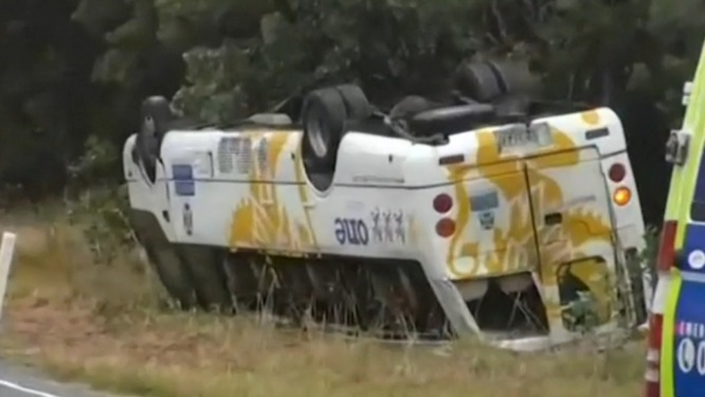 Adelaide students injured in bus crash