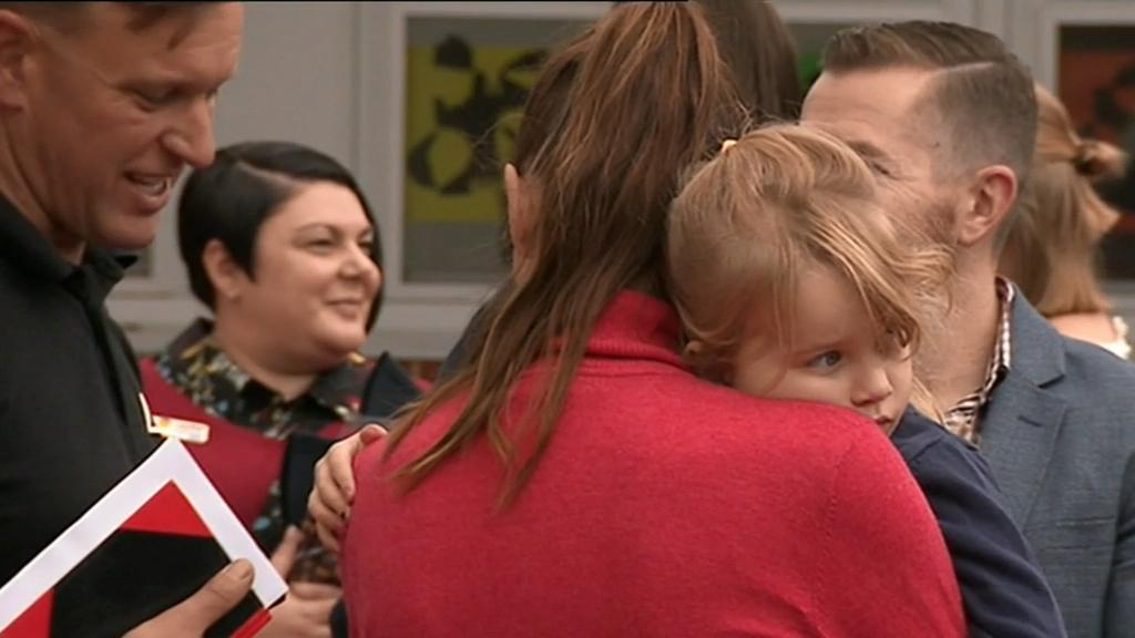 SA Bushfires: Families receive bushfire relief