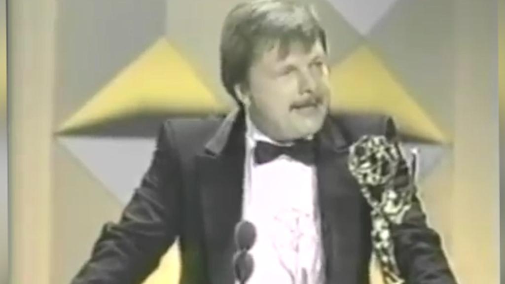 John Karlen wins an Emmy