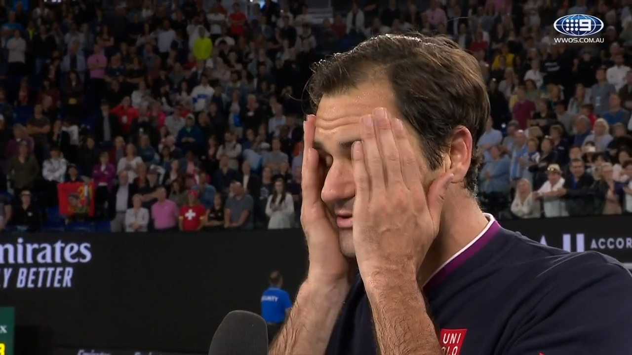 Roger Federer reflects on a historic battle