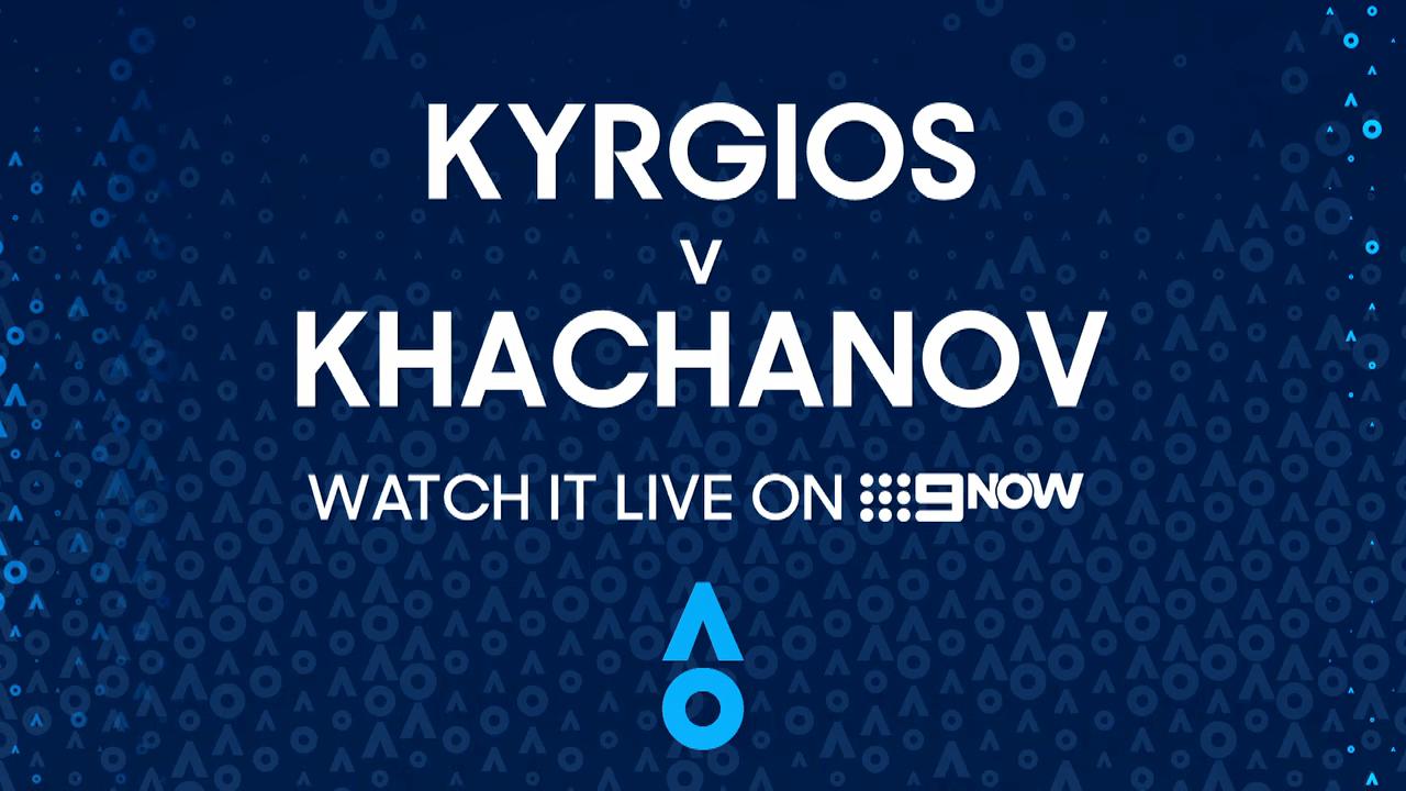 Nick Kyrgios v Karen Khachanov: AO Highlights