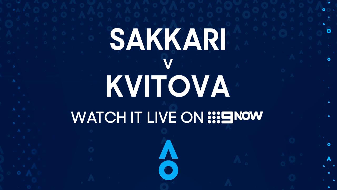 Maria Sakkari v Petra Kvitova: AO Highlights