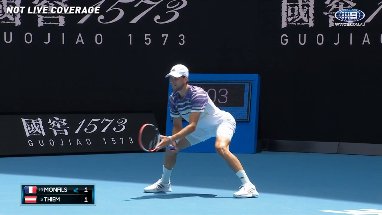 Dominic Thiem through to Australian Open final against Novak Djokovic