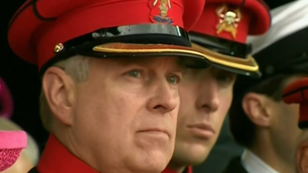 FBI want to interview Prince Andrew over Epstein case
