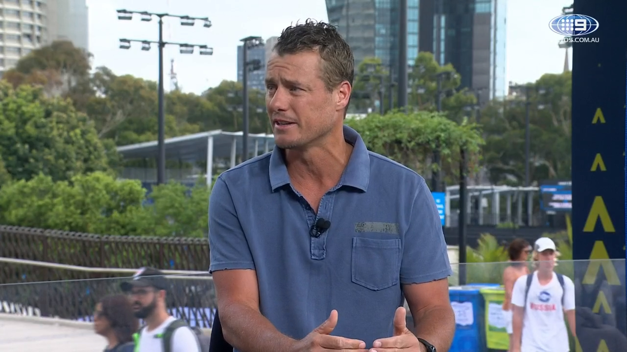 Lleyton Hewitt on Kyrgios exit, and the pending men's draw