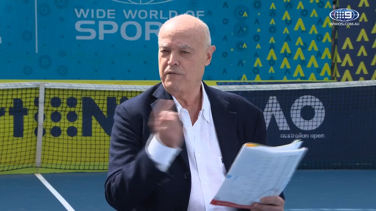 Ubaldo Scanagatta shares stories about covering tennis' biggest stars