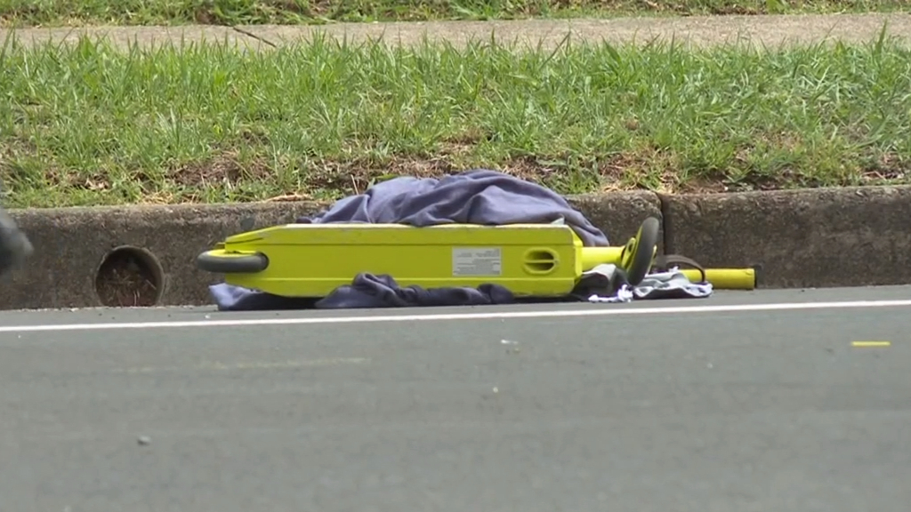 Boy injured in scooter crash in western Sydney