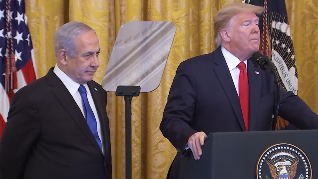 Trump unveils Middle East plan