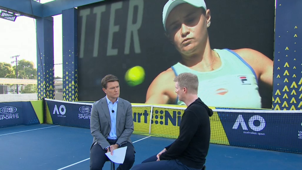 'We': Secret to Barty's success