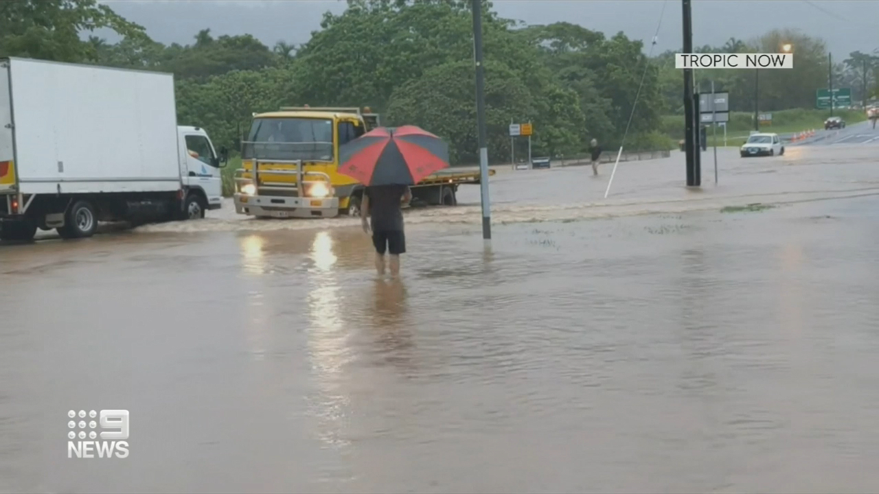 Cairns hit hard by flooding