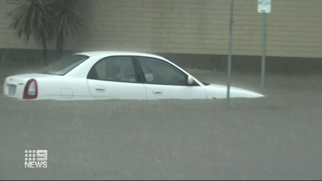 Severe rain in SA causes flash flooding