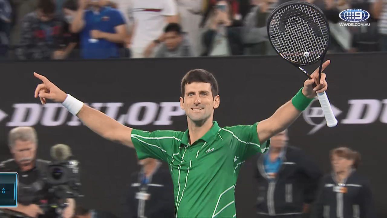 The Best of Novak Djokovic: Australian Open