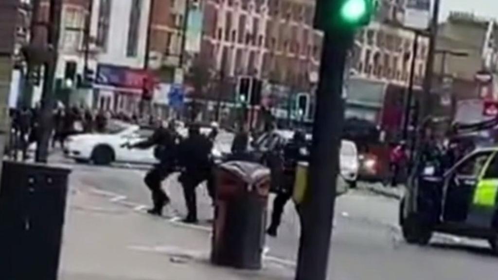 Man shot in London 'terrorist-related' incident