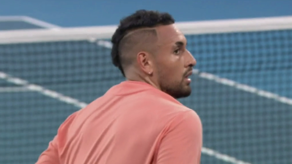 Nick Kyrgios tennis video | Back into world top 20