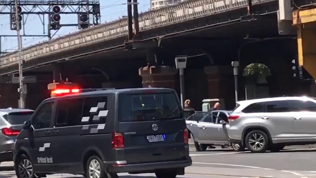 Man arrested in Melbourne CBD