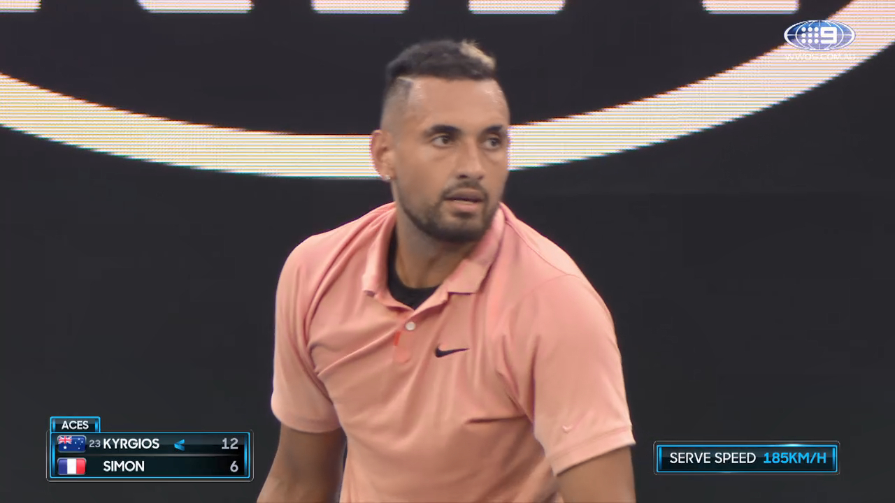 8 minutes of King Kyrgios