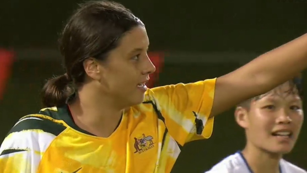 Foord, Kerr shine in Matildas win