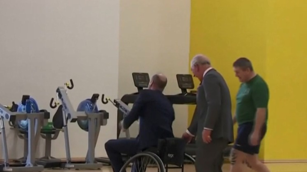 Prince William and Prince Charles share sweet father-son moment