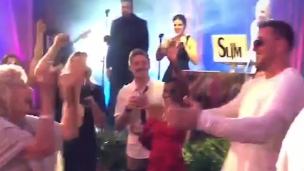 J.J. Watt dances with his grandma at wedding to Kealia Ohai