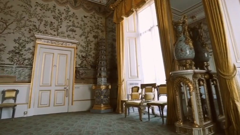 Royal family video takes fans inside Buckingham Palace's $714m refurbishment