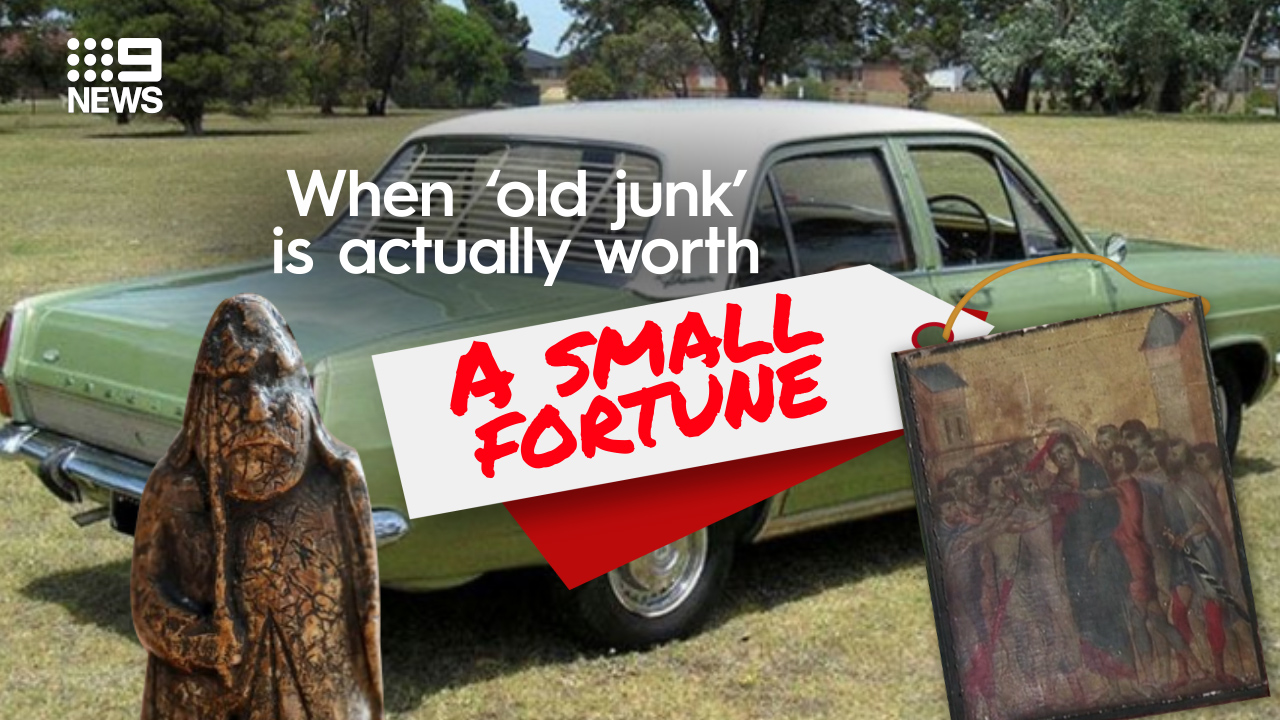When 'junk' turns out to be worth small fortune