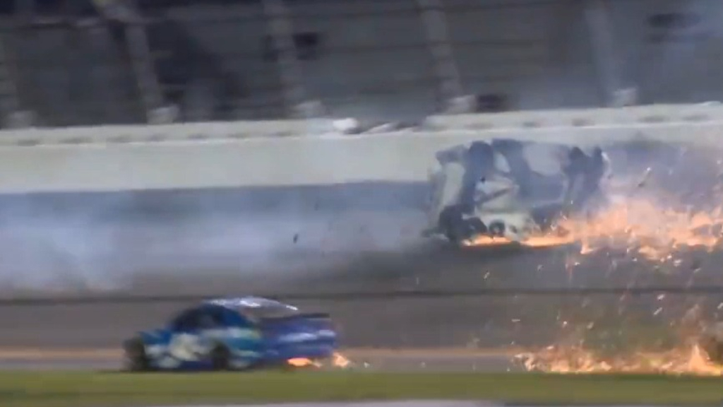 NASCAR driver's horror Daytona 500 crash