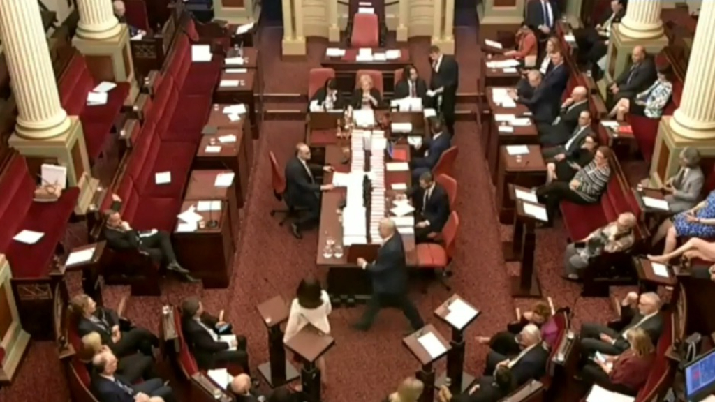 Entire Victorian council sacked