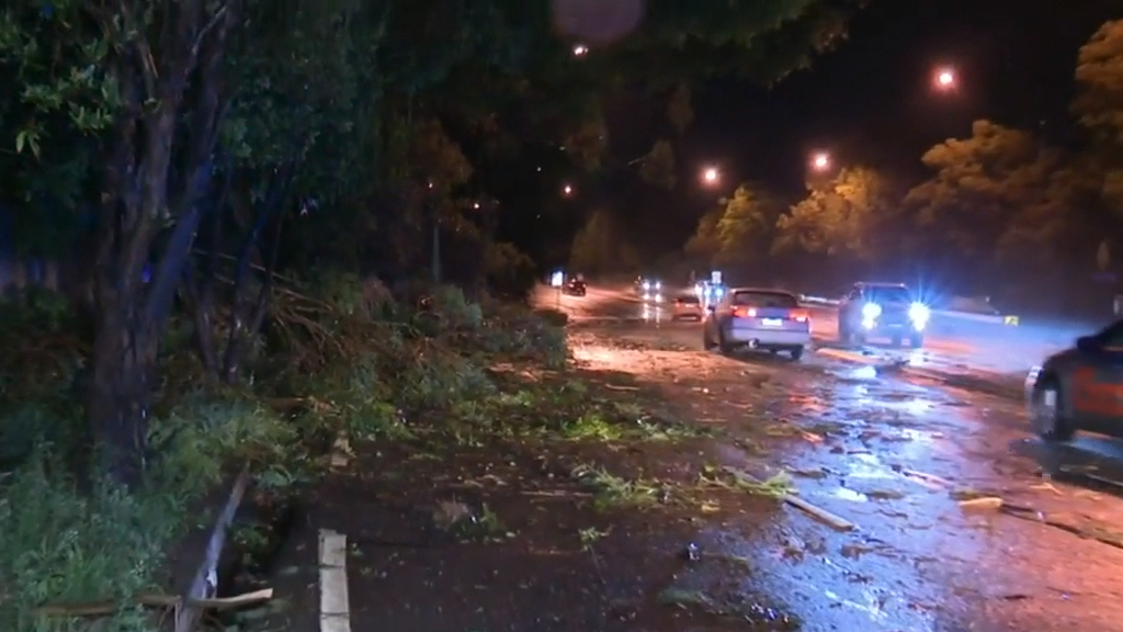 Extreme storms lash NSW