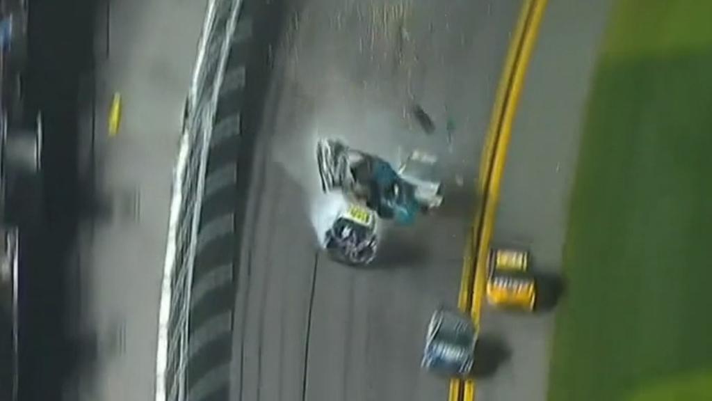 NASCAR star recovering from horror crash