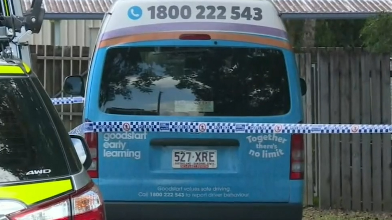 Toddler's body found in Cairns mini-bus