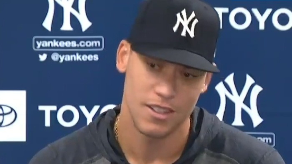 Astros cheating scandal made Aaron Judge 'sick'