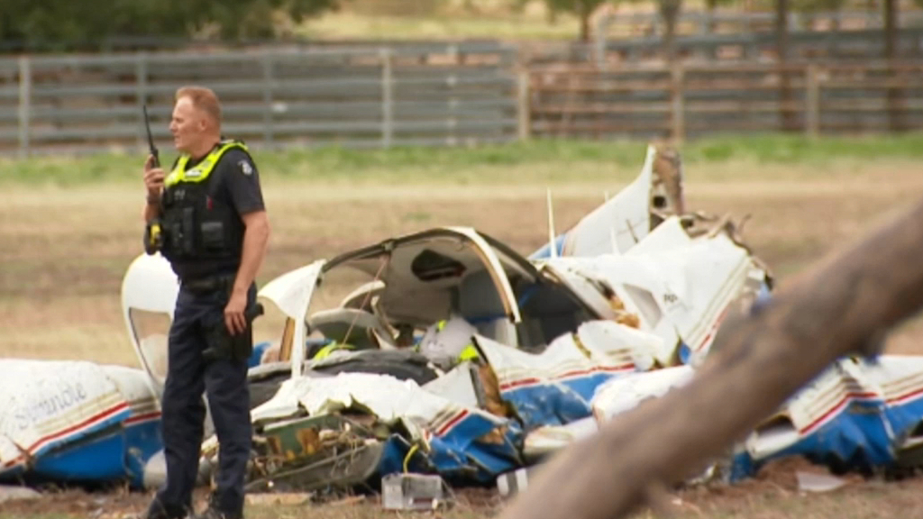 Four Dead After Two Planes Crash In Mid-Air