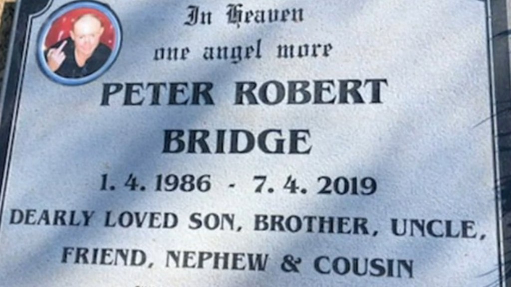 Family heartbroken after gravestone is removed