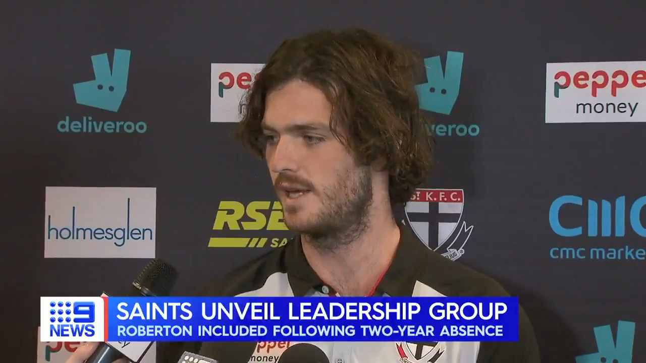 Roberton named in Saints' leadership group
