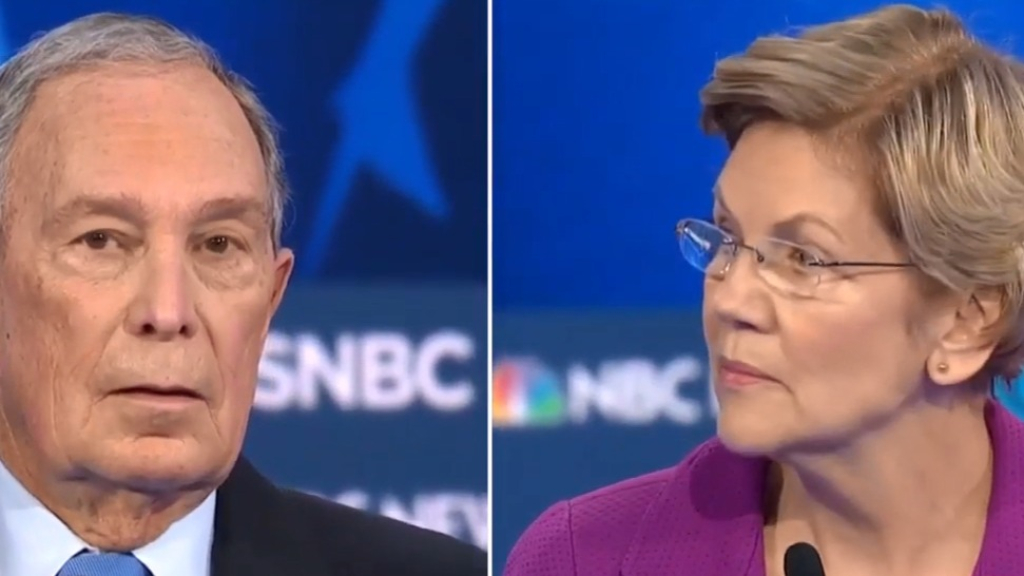 Warren tears Bloomberg to shreds over harassment settlements