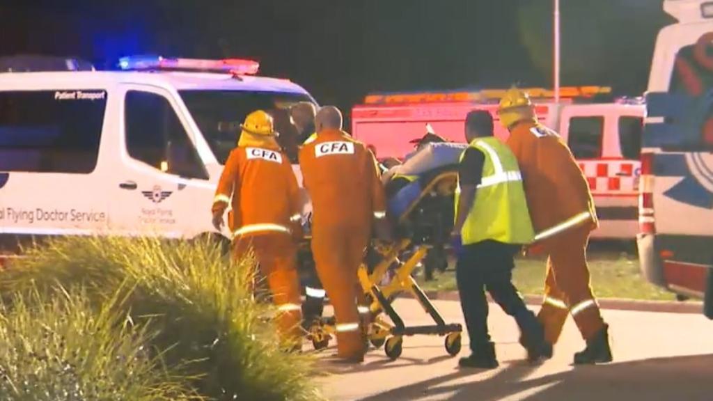 Two dead following train derailment outside Melbourne