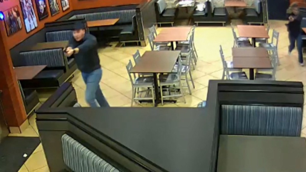 Newlywed officers thwart robbery attempt at favourite restaurant