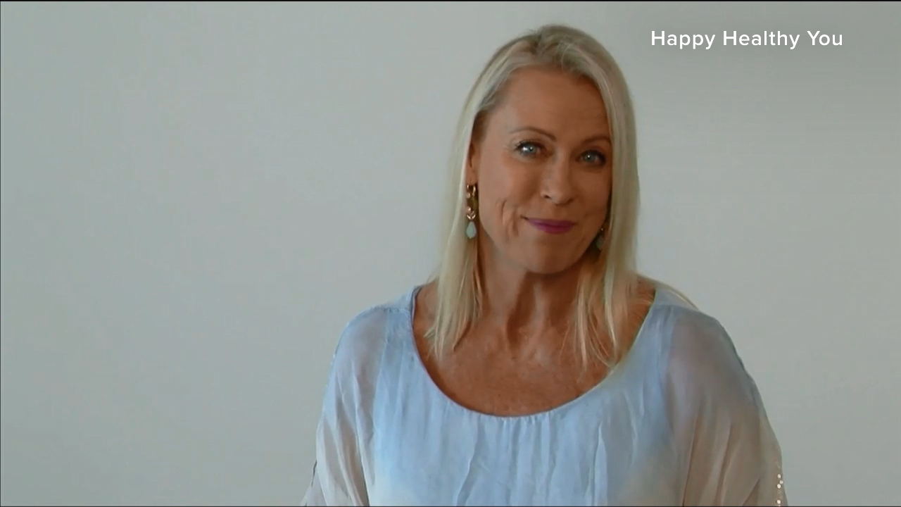 Lisa Curry explains her health program Happy Healthy YOU