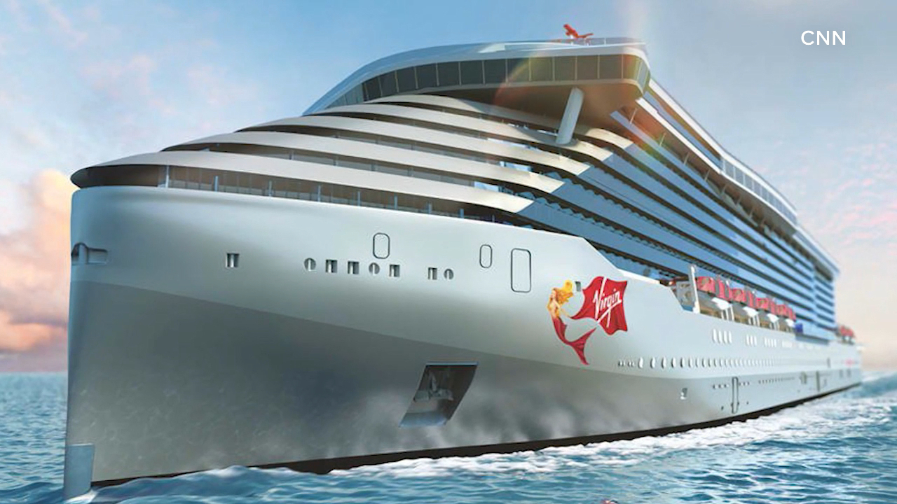 Richard Branson launches luxury adults only cruise ship