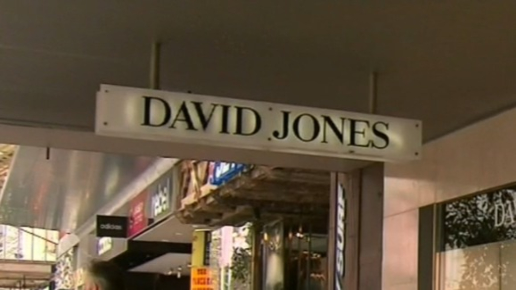 David Jones to axe smaller stores