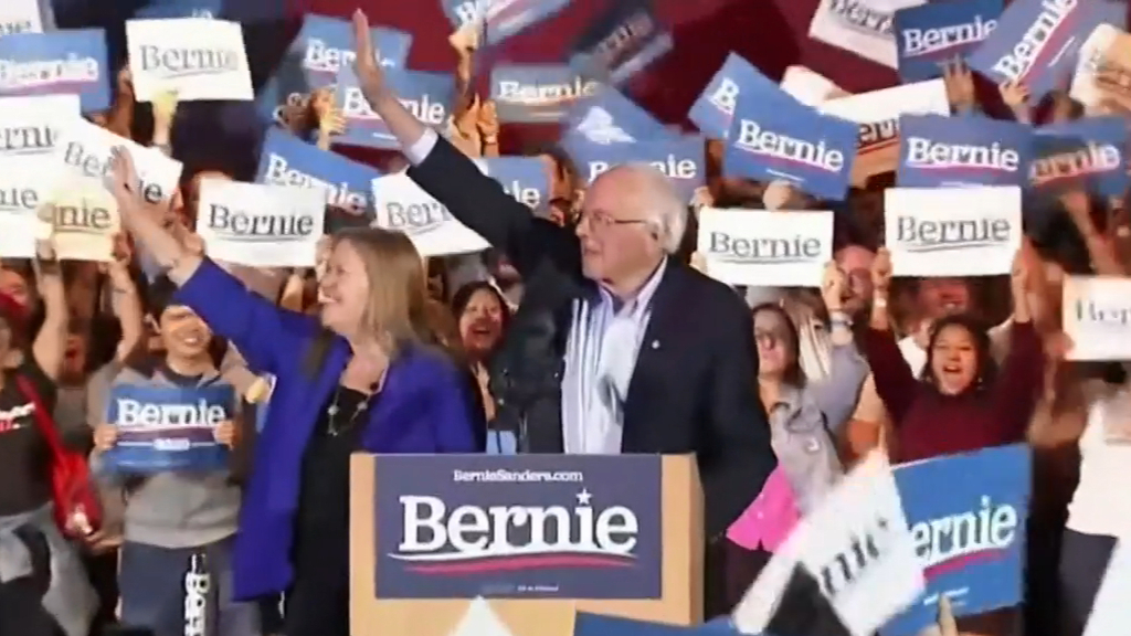 Bernie Sanders widens lead in democratic race