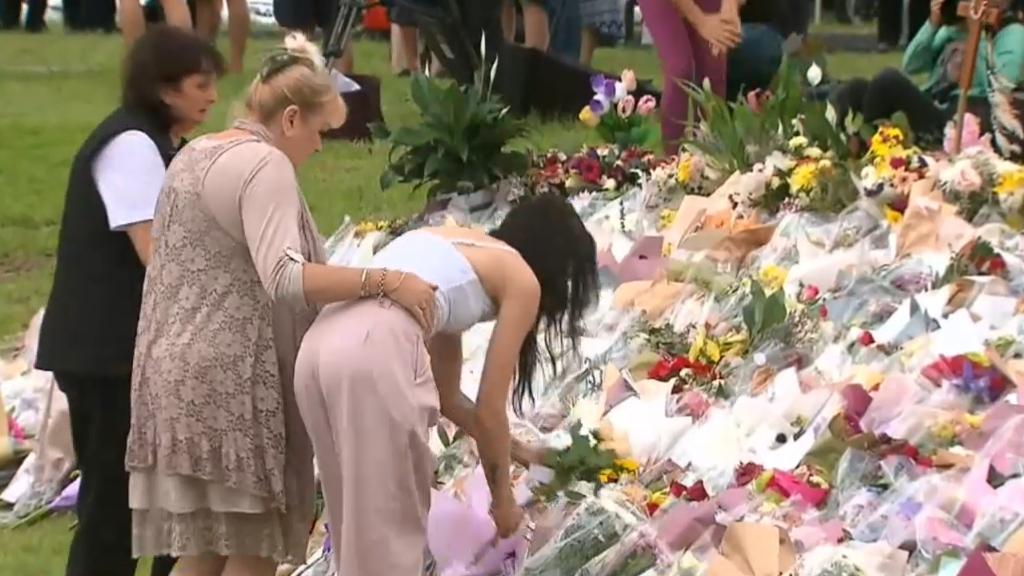Vigil held for Hannah Clarke and children