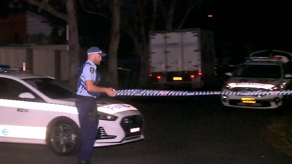 A man was fatally stabbed at his home in western Sydney