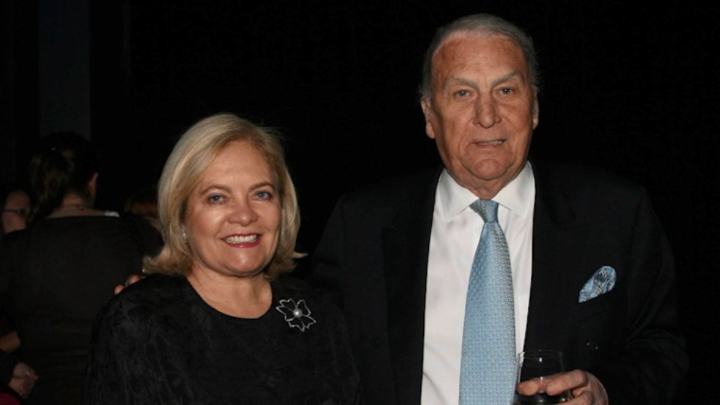 Radio legend John Laws' wife Caroline has died